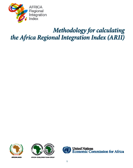 Methodology for Calculating the African Regional Integration Index (ARII) 2016